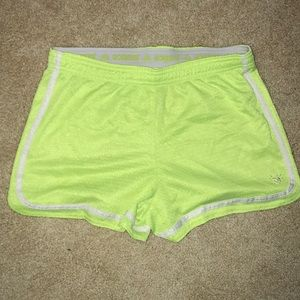 Neon Running Shorts